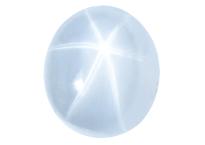 Saphir étoilé 3.14ct