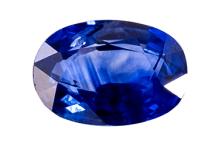 Saphir bleu 0.47ct