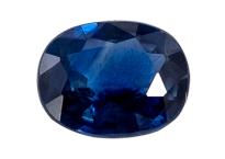 Saphir bleu 0.60ct