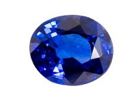 Saphir bleu 0.63ct