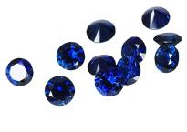 Saphir bleu rond 3.50mm