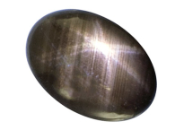 saphir noir black star 1.37ct