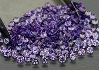 Saphir violet rond 3.0mm