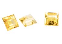 saphir jaune - yellow sapphire