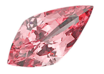 Spinelle rose, 4,85ct