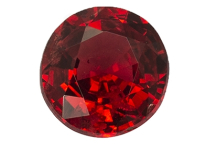 Spinelle rouge vermillon 0.73ct