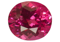 Spinelle rose néon 1.55ct
