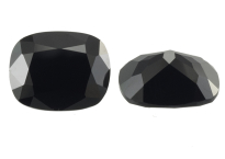 Spinelle noir calibré 3.00ct
