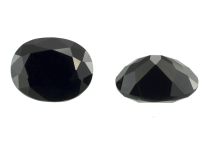 Spinelle noir calibré 3.825ct