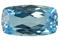 Topaze bleue Sky Blue (traitée) 12.30ct