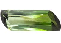 Tourmaline verte bicolore 1.21ct
