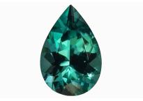 Tourmaline verte-bleue 1.23ct
