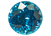 Zircon bleu 1.09ct