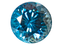 Zircon bleu 1.32ct