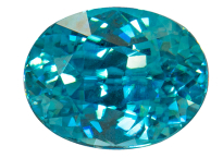 Zircon bleu 1.48ct