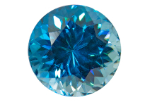 Zircon bleu 1.71ct
