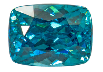 Zircon bleu 1.85ct