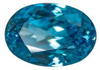 Zircon bleu 1.90ct