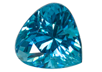 Zircon bleu 1.96ct