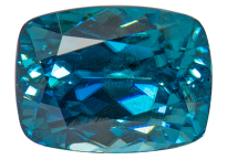Zircon bleu 1.98ct
