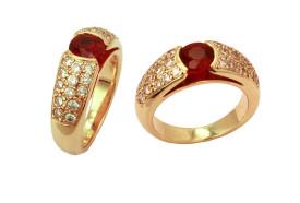 Burmese ruby ring