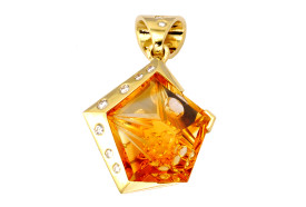 SIKIRDJI Laurent - Citrine - diamonds