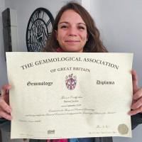 Diplôme The Gemmological Association of Great Bretain (GEMA)