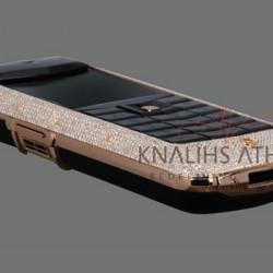 12-09-2010: Téléphone recouvert de diamant