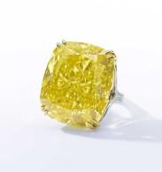 13 mai 2014: un diamant jaune de 100.09 carats vendu chez Sotheby's  Record battu  !