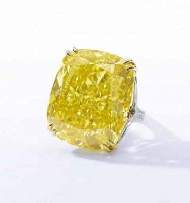 diamant jaune - yellow diamond - record