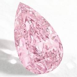 7 octobre 2014: record pour un diamant rose