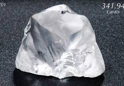 22 avril 2015 : découverte d'un diamant de 342 carat