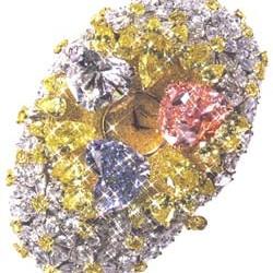 Montr diamant Chopard - Chopard diamond watch