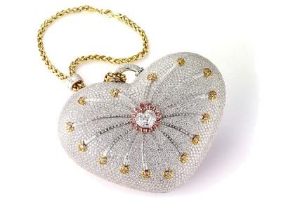 Sac à main diamants Mouawad - Mouawad diamond handabag