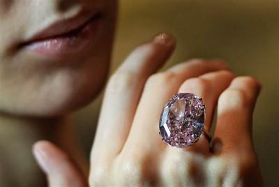pink star - pink diamond