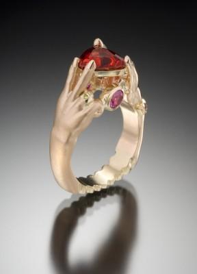 Andesine ring-Jeffrey-designer