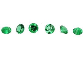 émeraude - emerald - Zimbabwe - diamond cut
