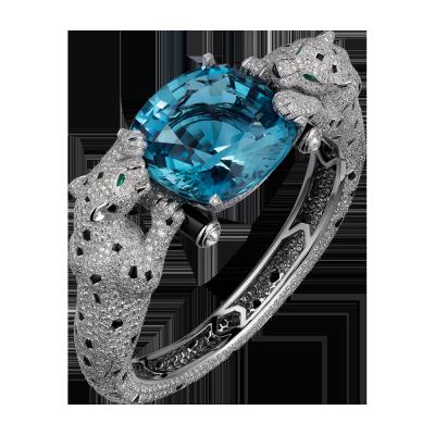 Collection Cartier Royal aigue marine onys diamants