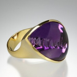 Bague Imagination, Amethyste, Atelier Munsteiner