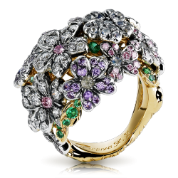 Bague collection Forget me Not Fabergé Alexandrite,  Faberge©