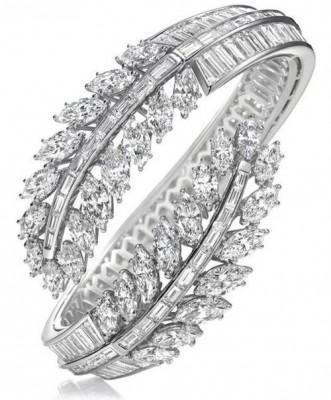 Bracelet de diamants, HARRY ©WINSTON