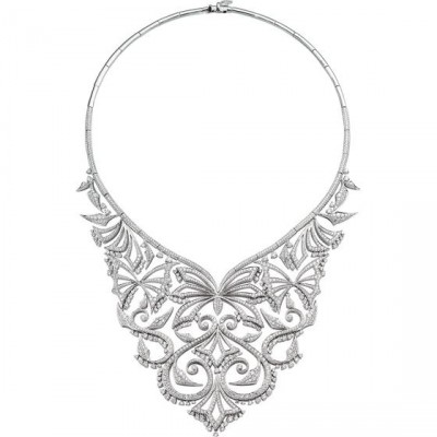 Collection Couture Voyage, collier Russia, or blanc, diamants, ©Stephen Webster