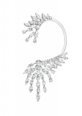 Collection Extremely Piaget, boucle d'oreille or blanc, diamants, ©PIAGET