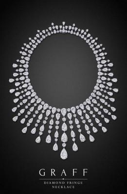 Collier Diamond Fringe, diamants blancs, ©GRAFF