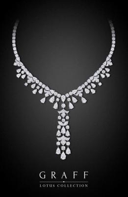 Collier Diamond lotus, diamants blancs, ©GRAFF