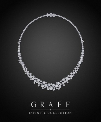 Collier collection Infinity, diamants blancs, ©GRAFF
