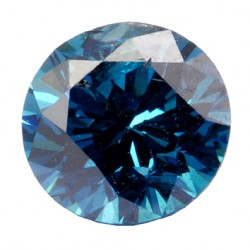 Diamant bleu traité - Treated bleu diamond