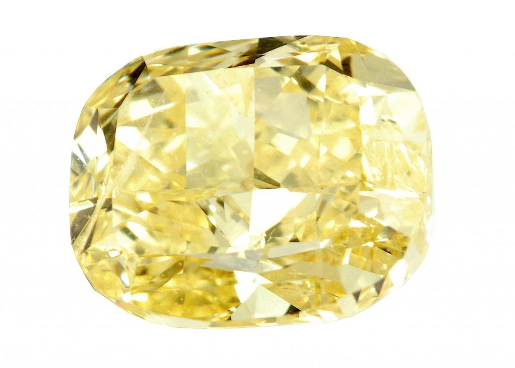 Diamant jaune - yellow diamond