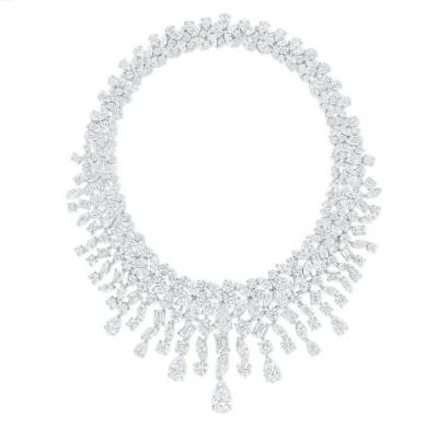 Le collier Rhythm en diamants de ©Graff