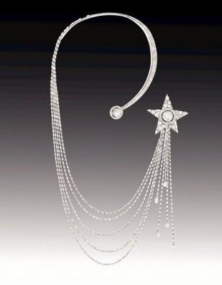 la collection ©Chanel Haute Joaillerie de 1932, collier avec diamants.